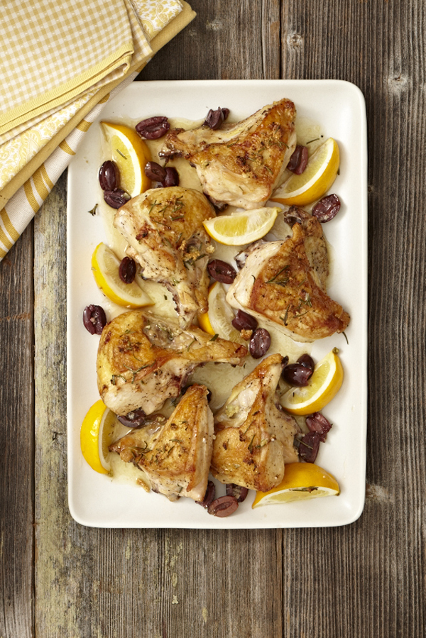 AFEC Roasted Chicken with Rosemary Kalamata Olives and Lemon image p 84