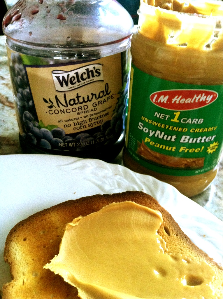 First Soynutbutter (or any nutbutter) our child has had in her lifetime - I pinch myself every morning as I make it...