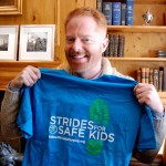 Jesse Tyler Ferguson at the Spring-tervention sponsored by Swiffer & Febreze with Kids With Food Allergies T'shirt