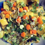 Brooklyn Allergy Mom's Sweet Potato Salad